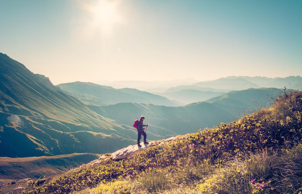 Hold en aktiv ferie i naturen